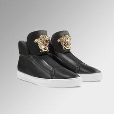 Style worthy. Find more #VersacePalazzo Men's sneakers on versace.com #VersaceSneakers