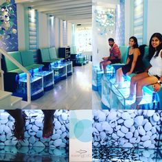 Fish Pedicure #garaarufa #herefishyfishy #weirdestfeelingever #santorini #greece #jetsetbhullerz by navina_