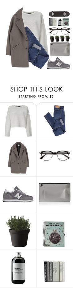 """""""#579"""" by madam-kate ❤ liked on Polyvore featuring Theory, Cheap Monday, New Balance, Jil Sander, Muuto and Sort of Coal"""