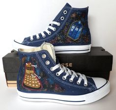 I'm a big fan of Doctor Who, so I would totally wear these! It so adds to my weirdness!