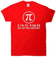 Day Of The Century Pi Day 3.14.15 T-Shirt