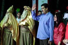 Nicolas Maduro announces early Christmas season in Venezuela
