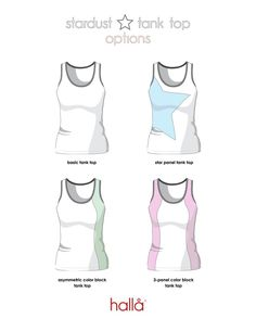 """hallå stardust tank top for women This is a promotional pattern. Join our Hallå Patterns Groupon Facebook for acode to make this pattern free.  THIS SEWING PATTERN & TUTORIAL INCLUDES:  Instructions and pattern pieces, professionally drafted and layered Easy to assemble pages (overlap and secure with a glue stick) Easy to follow instructions with color photos Quick """"puzzle piece"""" pattern assembly guide Bust, waist, and hip ruler overlaid on pattern to help you get the ..."""
