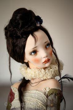 Bird of paradise. Art doll by Alisa Filippova | Doll Art Guru