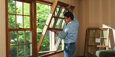 Want to make the backyard pleasant and beautiful? Install double hung window or other units for added comfort.