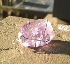Psyche Pendant in Amethyst for Purification and Psychic Abilities