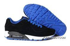 http://www.jordanbuy.com/latest-air-max-90-vt-mens-shoes-black-blue-online.html LATEST AIR MAX 90 VT MENS SHOES BLACK BLUE ONLINE Only $85.00 , Free Shipping!