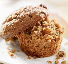Muffins aux noisettes et aux pommes