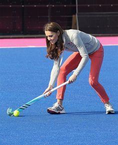 Kate Middleton Joins Team GB - Field Hockey Slideshows | NBC Olympics