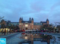 El #Rijksmuseum es el Museo Nacional de #Ámsterdam y el principal museo de la ciudad. http://www.viajaraamsterdam.com/museos-en-amsterdam/rijksmuseum/