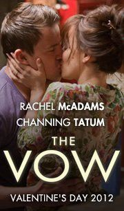 The Vow! seen it opening day..my husband..and his wife..never thought our fav's would make a movie together!