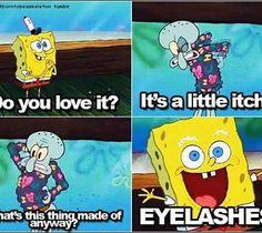 spongebob funny