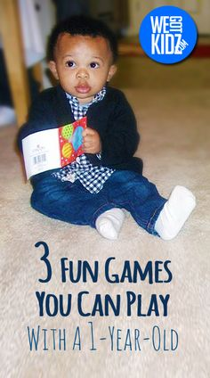 Games for a 1 year old to Play | We Got Kidz