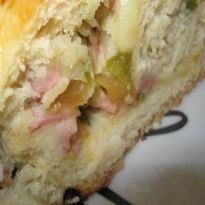 Receita de Pão Italiano recheado