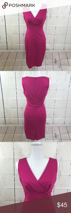 """Trina Turk fitted knee length dress N excellent condition dress by Trina Turk. Size tag has been removed but this will fit a small. Approx measurements: length 36"""" waist is 14"""" armpit 16"""" Trina Turk Dresses Midi"""
