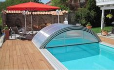 Planning to buy swimming pool covers? Here's your ultimate guide to all types of swimming pool covers - winter covers, mesh pool covers, pool enclosures. Outdoor Swimming Pool, Swimming Pools, Indoor Pools, Photomontage, Mesh Pool Covers, Pool Canopy, Swimming Pool Enclosures, Screen Enclosures, Safety Cover