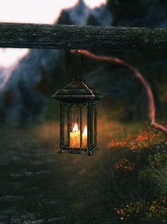 Quand le Coeur parle...jolie petit feu de lanterne / #GIF
