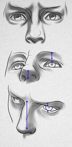 How to draw eyes from a difficult POV by PitGraf on DeviantArt