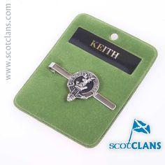 Keith Clan Crest Tie