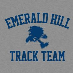 Emerald Hill Track Team by BustedTees