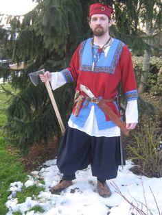 Rus/Slavic Or Viking. Nice short tunic.