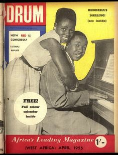 Black History Magazines: South Africa's Drum,
