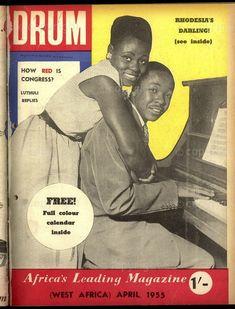 Drum Magazine, April 1955