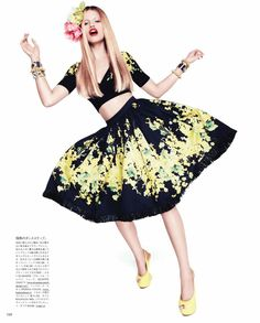 Hailey Clauson by Paola Kudacki for Vogue Japan April 2012