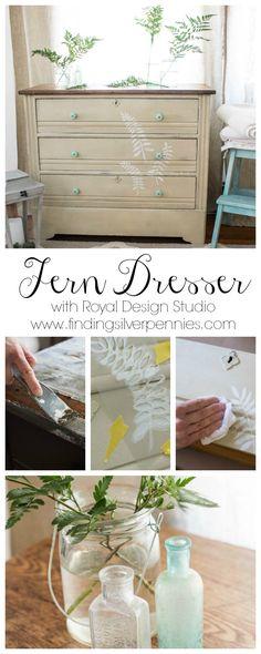 Fern Dresser by Finding Silver Pennies #sponsored