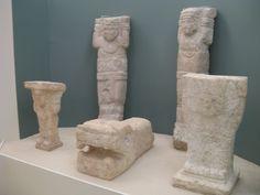 Атланты и змея. Чичен-Ица. 900-1200 гг.