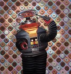 Page not found - Eric Joyner Robots and Donuts Artist B9 Robot, Robots Robots, Robot Art, Eric Joyner, Steampunk, Retro Robot, Space Toys, Vintage Horror, Lowbrow Art