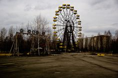 Location: Pripyat, Ukraine (100 km away from Kiev) Abandoned Since: 1986  ----  [THE 10 GHOST TOWNS IN THE WORLD – PART 1]