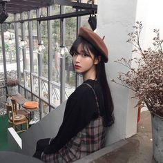 Картинка с тегом «girl, ulzzang, and asian Ulzzang Hair, Mode Ulzzang, Ulzzang Korean Girl, Cute Korean Girl, Girl Korea, Asia Girl, Poses, Uzzlang Girl, Ulzzang Fashion