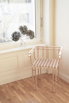 painted white, would be a great shelf like thing to hold mags or bathroom goodies like toiletries and towels