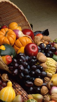 Fruits Thanksgiving iPhone 6 (750 x 1334) and iPhone 6 Plus (1080 x 1920) Wallpaper in HD