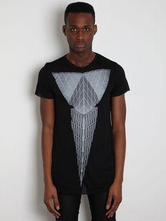 Gareth Pugh Men's Printed T-Shirt. #prints
