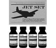 Aesop Jet Set travel toiletries set