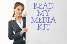 Yes...a media kit for your blog. Companies know bloggers have power - show them you know what you are doing.