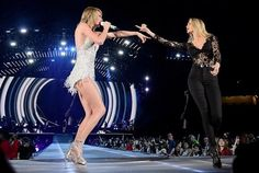 Taylor Swift with Gigi Hadid