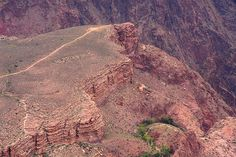 Plateau Point, Bright Angel Trail.  Grand Canyon