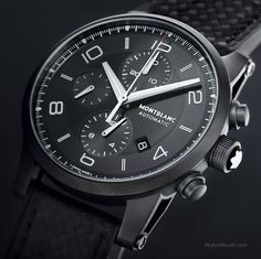 Montblanc launched a new family of watches and simultaneously defined a new design vocabulary.