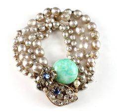 House of Lavande vintage Miriam Haskell bracelet!