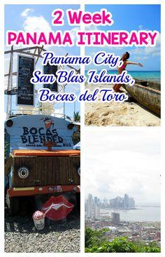 Our 2 week itinerary in Panama: Panama City, San Blas Islands and Bocas del Toro