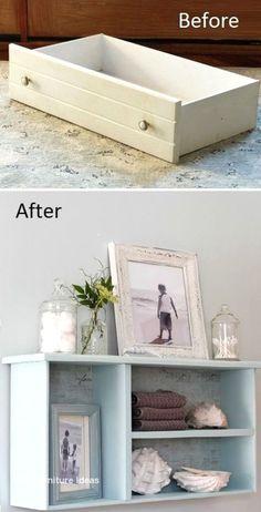 Cheap Furniture Makeover, Diy Furniture Renovation, Diy Furniture Easy, Diy Furniture Projects, Refurbished Furniture, Repurposed Furniture, Furniture Decor, Furniture Storage, Modern Furniture