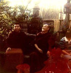 Naljorma's shot of Jamgon Kontrul and the 16th Karmapa at Disneyland
