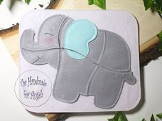 Elephant Puzzle Page- Quiet Book Page