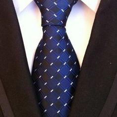 Costbuys Luxury Silk Necktie Dot Wedding Neck Tie For Men Redreen Mens Ties Knit Fashion, Mens Fashion, Luxury Ties, Casual Tie, Cufflink Set, Tie Styles, Men Formal, Men's Apparel, Striped Ties