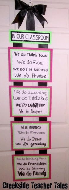 "Love this!  She took out the ""We do a lot of tests"" line!  Free printable."