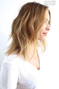 SOFT A-LINE - ANH CO TRAN : CELEBRITY HAIR STYLIST