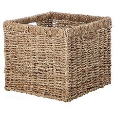 Shop quality baskets & storage boxes at Briscoes. Choose from wicker baskets, plastic boxes & more. Shop online for fast shipping & our price beat guarantee. Cube Storage, Bedroom Storage, Storage Boxes, Storage Baskets, Storage Spaces, Storage Units, Door Storage, Bedroom Decor, Spare Room Office